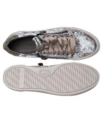 y amp; de Kennel para tela Zapatillas mujer cuero gris Schmenger XqqgwH
