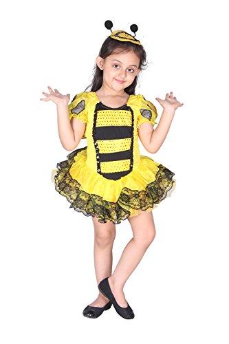 Baby and Blossoms Girls Honey Queen Bee Halloween Costume Bumblebee Wasp Dress Up & Role (Queen Bee Infant Costumes)