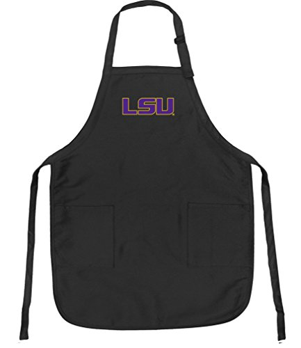 - Broad Bay LSU Tigers Aprons LSU w/Pockets Grilling Gift Him Her Men