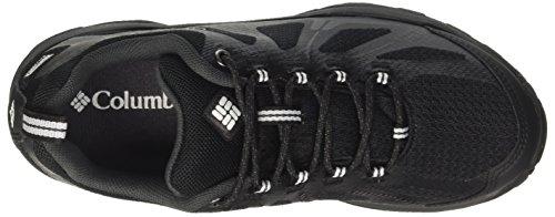 Negro II XCRSN Outdry de Zapatillas Xcel Senderismo Black Mujer White Columbia Peakfreak para Low wpZqP