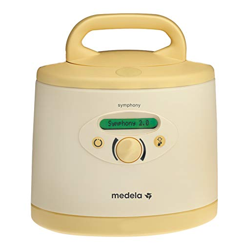 Medela Symphony Breast Pump, Hospital Grade Breast Pump, Convenient Single or Double Pumping, Efficient and Comfortable Milk Supply Initiation and Expression, Easy Operation