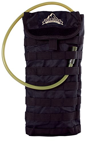 Red Rock Outdoor Gear Molle Hydration Pack, Black (Pack Hydration Molle Black)