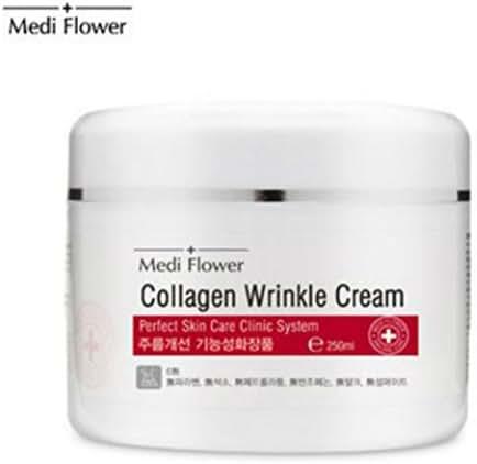 [MEDI FLOWER] COLLAGEN WRINKLE CREAM PERFECT SKIN CARE CLINIC SYSTEM 250ml