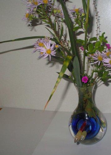 骨董花瓶 (高さ160, ガラス) B00FPAQW0C