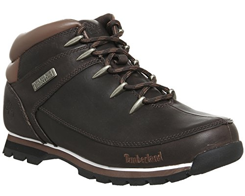 Timberland Mens Euro Sprint Hiker Winter Boot Marrone Scuro