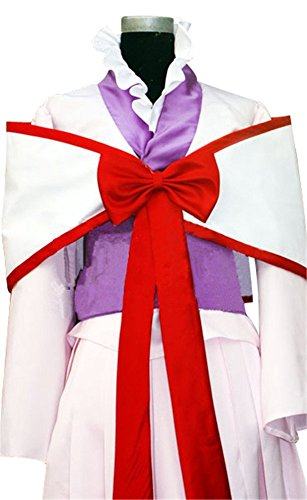 Mtxc Women's Code Geass: Lelouch of the Rebellion Cosplay Kaguya Sumeragi Costume Size X-Large White