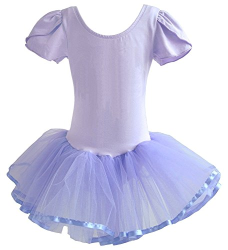 Dancina Toddler Leotard Ballet Dress Puff Sleeve 2-3T (Puff Sleeve Dance Dress)