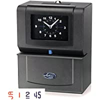 Lathem Automatic Time Clock for Month, Date, AM/PM, Hours (1 -12) & Minutes (4001)