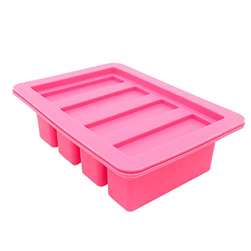 YHSWE 1PCS Red Large butter Silicone container