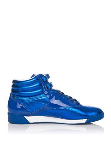 Reebok Zapatillas Abotinadas Freestyle Hi Int Azul Eléctrico EU 38 (US 7.5)