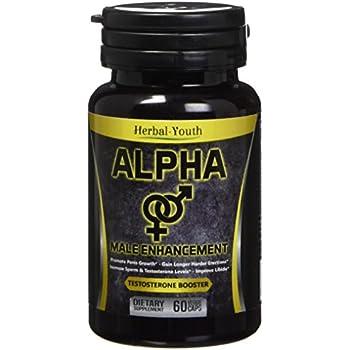 Amazon Com Natural Alpha Male Enhancement Pills Penis Enlargement