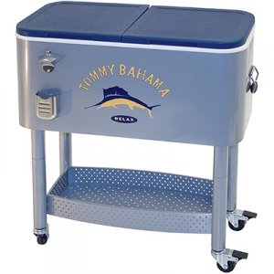 TOMMY BAHAMA ROLLING ENTERTAINER COOLER