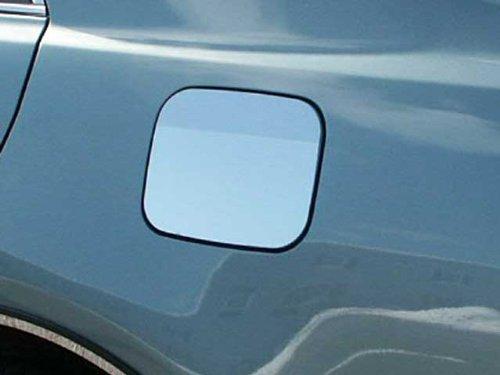 Accent Fuel Door - QAA FITS Camry 2007-2010 Toyota (1 Pc: Stainless Steel Fuel/Gas Door Cover Accent Trim, 4-Door) GC27130