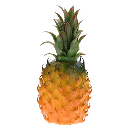 (KODORIA Artificial Tropical Pineapple for Display High Simulation Artificial Dummy Fruits Vegetables Studio Photo Prop DIY Decoration Accessories Artificial Food Toys Kitchen Room Décor )