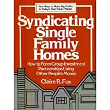 Syndicating Single Family Homes