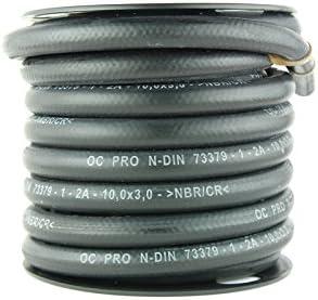 OC-PRO - Manguera reforzada de combustible, gasolina o gasoil, diámetro 3 mm, 8 mm x 15 m