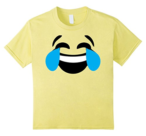 Kids Emoji Halloween Costume Laughing Tears of Joy Emoji Yellow 12 Lemon  sc 1 st  SaveMoney.es & Halloween emoji costumes the best Amazon price in SaveMoney.es
