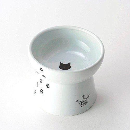 Necoichi Raised Cat Food Bowl (CAT (Large))