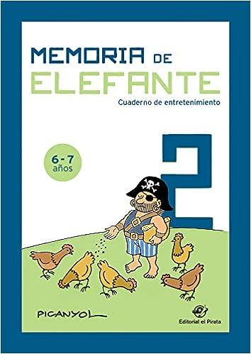 Memoria de elefante 2: cuaderno de entretenimiento: 9788417210489: Amazon.com: Books