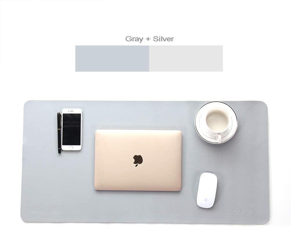CNZXCO PU Piel Laptop Teclado Mouse Pad Impermeable ...