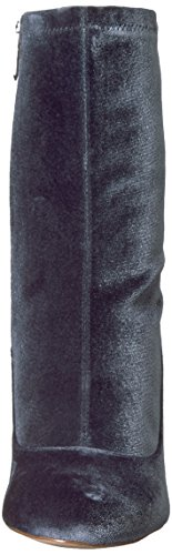 Sam Edelman Calexa, Bottes Femme Blue Grey Stretch Velvet