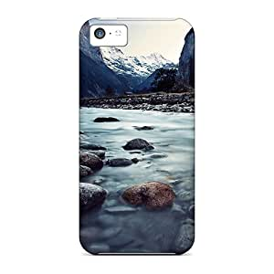 Durable Defender Case For Iphone 5c Tpu Cover(lauterbrunnen Switzerland)
