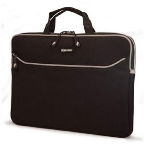 Mobile Edge MESSM1-15 15 inch SlipSuit MacBook Pro Edition - Notebook carrying case - 15 inch - black, platinum