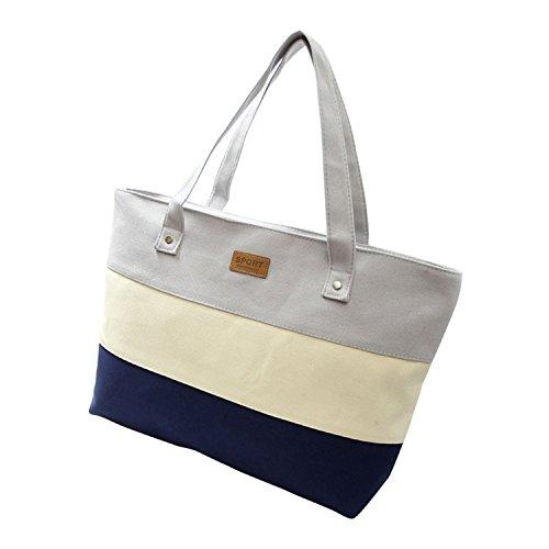 OnIn Ladies Hand Big Beach Women Messenger Tote Bags Female Handbags Famous Brand Sac A Main Femme De Marque Pochette Gray43cm x ()