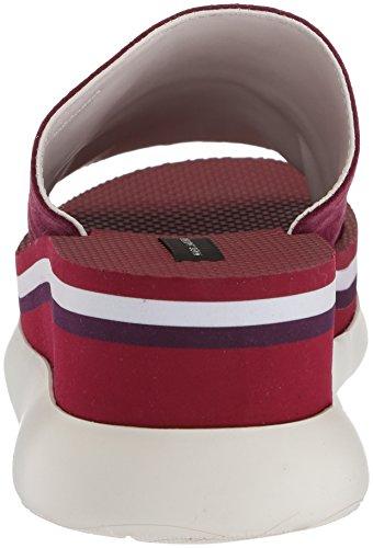 Sandalia Deportiva Marc Slide Slide Lex Platform Para Mujer, Color Violeta / Multicolor