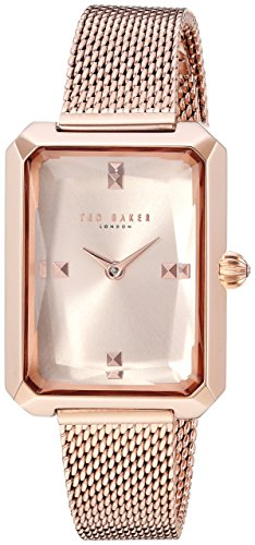 Ted Baker Women's 'CARA' Quartz Stainless Steel Casual Watch, Color:Rose Gold-Toned (Model: TE50270007)