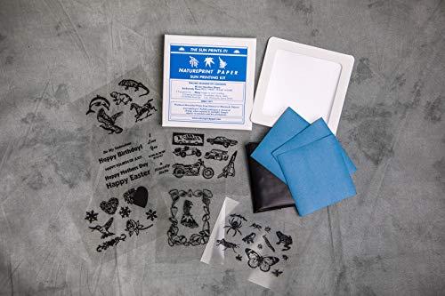Nature Print Paper Sun Printing Kit