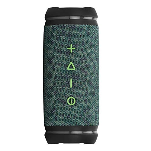 boAt Stone SpinX 2.0 LFW Edition Portable Wireless Speaker with 360° Stereo Sound, Up to 8H Playtime, IPX6 Water & Splash Resistance, Mountable Design and TWS Feature (Aurora Green)
