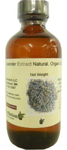 Natural Lavender Extract- Organic Compliant 4 oz, 4 Ounce (Cooking And Baking)