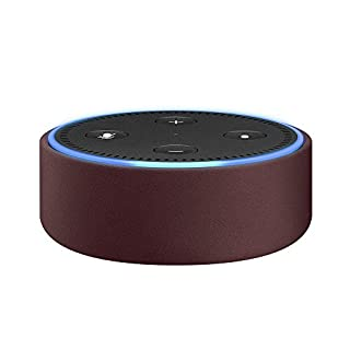 Amazon Echo Dot Case (fits Echo Dot 2nd Generation only) - Merlot Leather (B01K9KW792) | Amazon price tracker / tracking, Amazon price history charts, Amazon price watches, Amazon price drop alerts