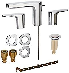 Moen T6920 Rizon Two-Handle Widespread Bathroom Faucet without Valve, Chrome