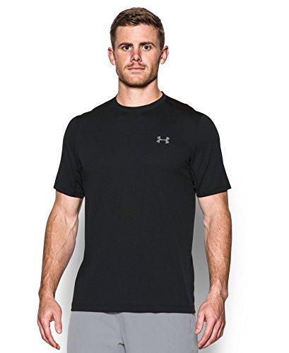 Under Armour Men's Raid Microthread Short Sleeve T-Shirt, Black (001), X-Large
