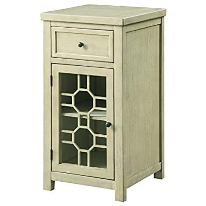 Amazon Com Furniture Of America Jennifer Transitional Side Table In