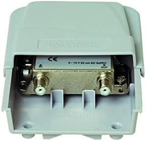 Proception 7-22 dB 1 vía amplificador de cabeza de máscara de antena variable