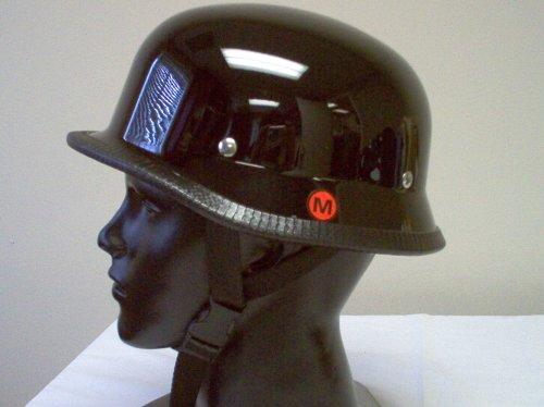German Gloss Black Novelty Helmet Large