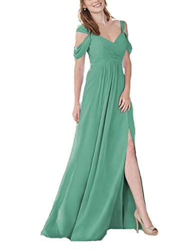 2 color bridesmaid dresses - 7