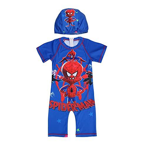 Avenger Spiderman Badpak Kid Iron Man Zwemkostuum Captain America Kinderen Cartoon Badpakken Eendelig Surf Pak Superheld…