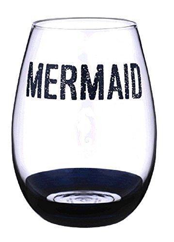Grasslands Road Mermaid Stemless Wine Glass