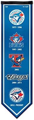 MLB Toronto Blue Jays Legacy Banner, 8 x 30-inches