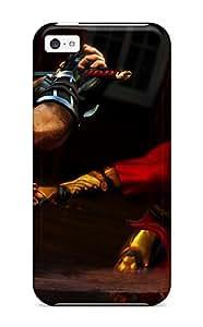 LeeJUngHyun Fashion Protective Ninja Gaiden Fantasy Anime Warrior Sword Battle Case Cover For Iphone 5c
