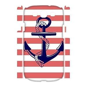 Sailor Anchor Brand New 3D Cover Case for Samsung Galaxy S3 I9300,diy case cover ygtg575413