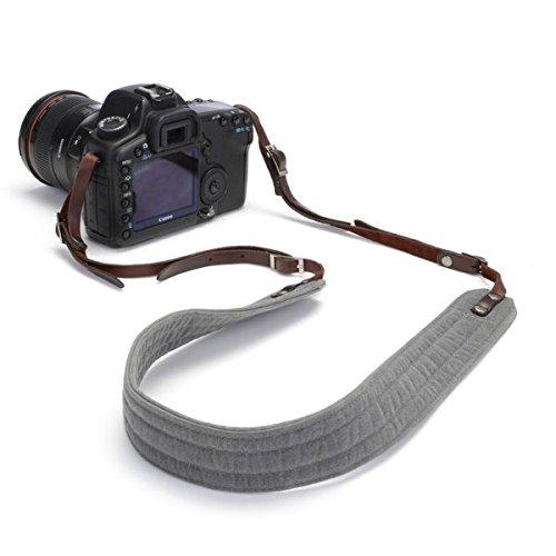 Ona – The Presidio – カメラストラップ – 煙ワックスキャンバス( ona5 – 023 GR ) B013TQMOXC