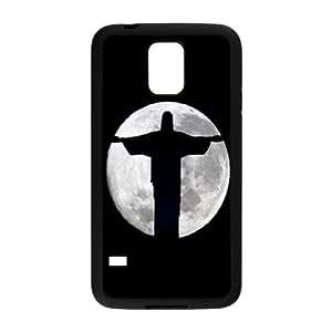Nymeria 19 Customized Jesus Christ Cross Diy Design For Samsung Galaxy S5 Hard Back Cover Case DE-270