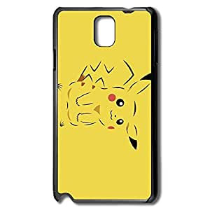 Pokemon Pocket Monster Pikachu Safe Slide Case Cover For Samsung Note 3 - Style Shell