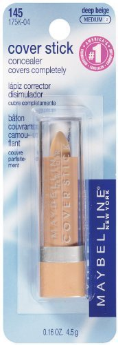 Maybelline New York Waterproof Cover Stick, Deep Beige - .16 Oz (Pack of 2) by Maybelline