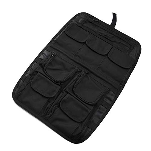 (Dasen For Harley Touring 1999-2013 Luggage Tour Pack Pak Trunk Lid Organizer Pouch Kit Black Fit Road King Electra Road Street Glide FLT FLH)